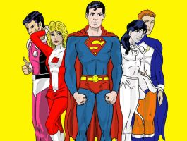 Superboy and the Legion by Heroid