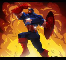 Captain America by Misterho