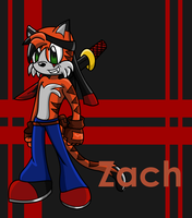 Zach Character Card -RQ- by UniqueMelody