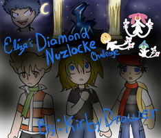 Eliza's Diamond Nuzlocke Cover by LizDraws