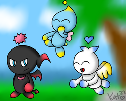 Meanwhile in a Chao Garden... by Katrins23