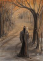 The Robed Man by Klyph