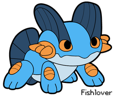 Vector: Swampert Pokedoll by Fishlover
