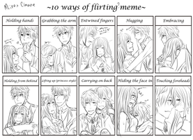 Flirting meme by Aka-Ai