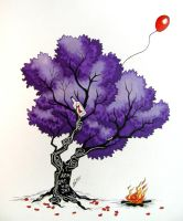 Memorial Tree by Super-Chi