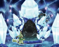 PMD, Crystal Cave by DrawerElma