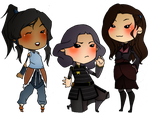 Avatar Ladies by DeadRookProductions