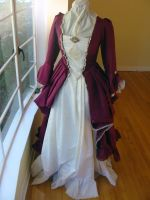 1700s Dress by CheddarTheCheese