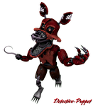 (SFM) Nightmare Foxy Transparent by Detective-Puppet
