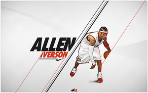 Allen Iverson Wallpaper by mattH27