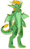 Dragon guy - SOLD by amagicaltale