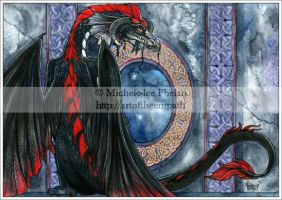 Faera - Death Dragon by mystress