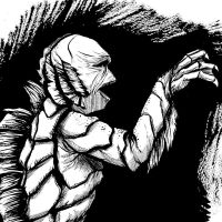 Creature from the Black Lagoon by JarOfComics