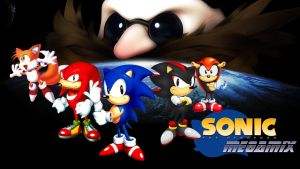 Sonic Megamix wallpaper by RollingTombstone