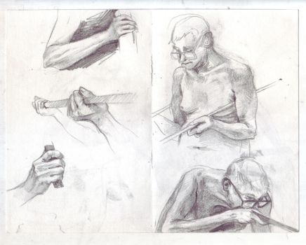 Life Drawing by aofie-fionn
