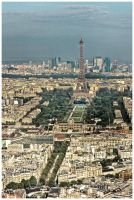 Paris view from Montparnasse 3 by superjuju29