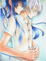 Kanda x Allen : Don't Go by Chinese-Shinigami