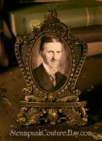 Resin Victorian Frame of Tesla by ByKato