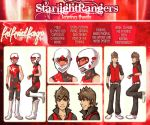 The Red Revival Ranger by felixdacat89