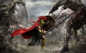 Leonidas by PimplyPete