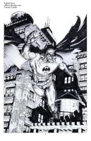 Batman pencil sample02 by Raffaele-Ienco