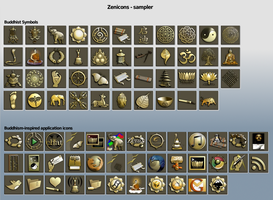 Zenicons Sampler by TAubrey