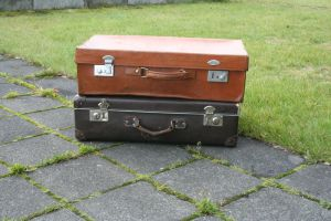 Suitcases 2 by frozt-stock
