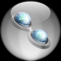 Silver Aqua Trillian Icon by rontz