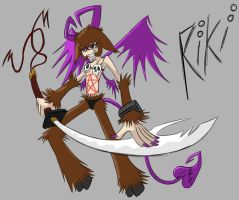 Riki Sword Colored by indonesianbob67