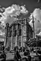 ORTAKOY MOSQUE by mecengineer
