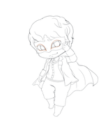 Opera Kyuhyun : Chibi Line Art by CheekyFlower