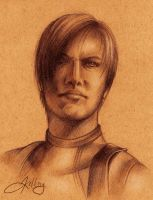 Leon S. Kennedy by BlueEyedPerceiver