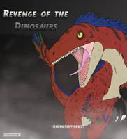Revenge of the Velociraptor. by KeitiBlackWhiteWolf