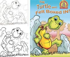 Turtle cover process by FeiLongEX