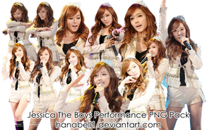 Jessica The Boys Performance PNG Pack by HanaBell1