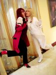Grell and the Viscount by die-chan