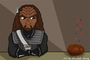Tribble serenade by goldiedarkriver