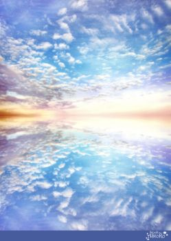 Sky Clouds or Waterreflection S T O C K by AStoKo by AStoKo