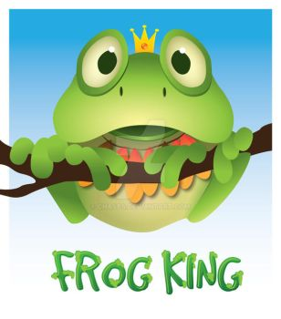 Frog King by Chasps