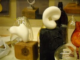 Sculpture and Glass by TonyTheZ