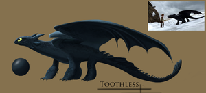 Toothless Painting by Av3nGer90