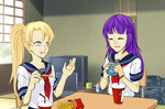 Ino and Hinata lunch by fanficluver22