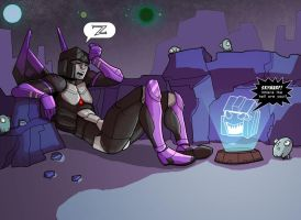 Skywarp, where are you? by batchix