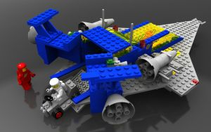 Lego 497 rear view by zpaolo