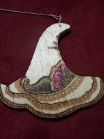 Witch Hat Ornament by parizadhe