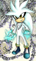 Silver the hedgehog by Silvery56
