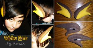 Pokemon Raichu Ears by SmileAndLead