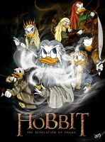 The Hobbit-Ducks: The Desolation of Smaug by Narya91