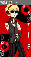 Vocalstuck - Dave Strider by KittyMaria