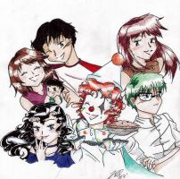 Pierrot Group Picture by PrinceRose